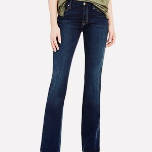 7 For All Mankind Bootcut Sequin Jeans